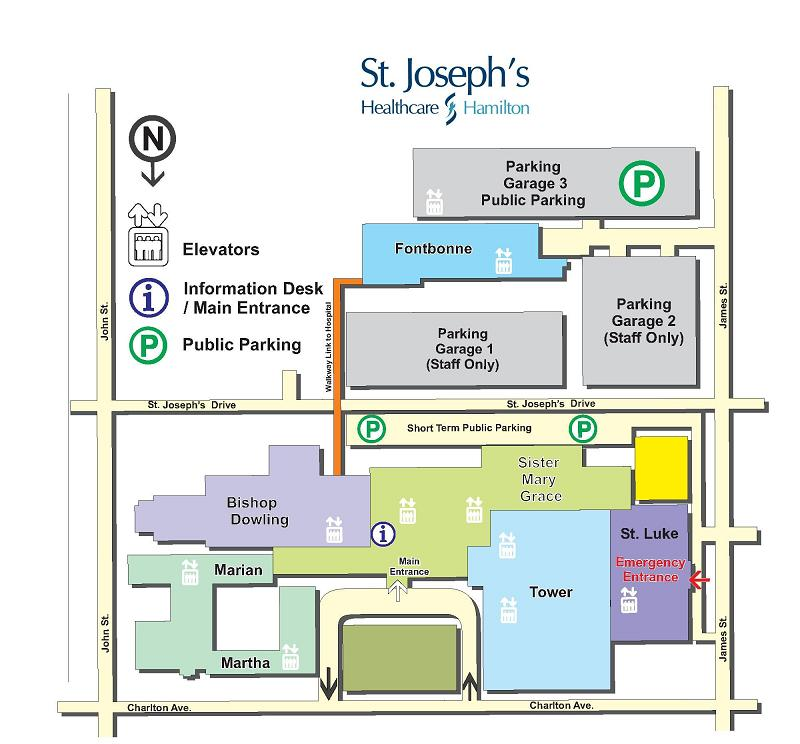 Fontbonne Campus Map.Off Site Locations